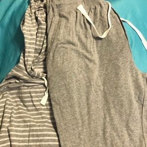 Hanes pajama for men/can be worn outside as well
